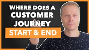 Where does a Customer Journey Map start and end?